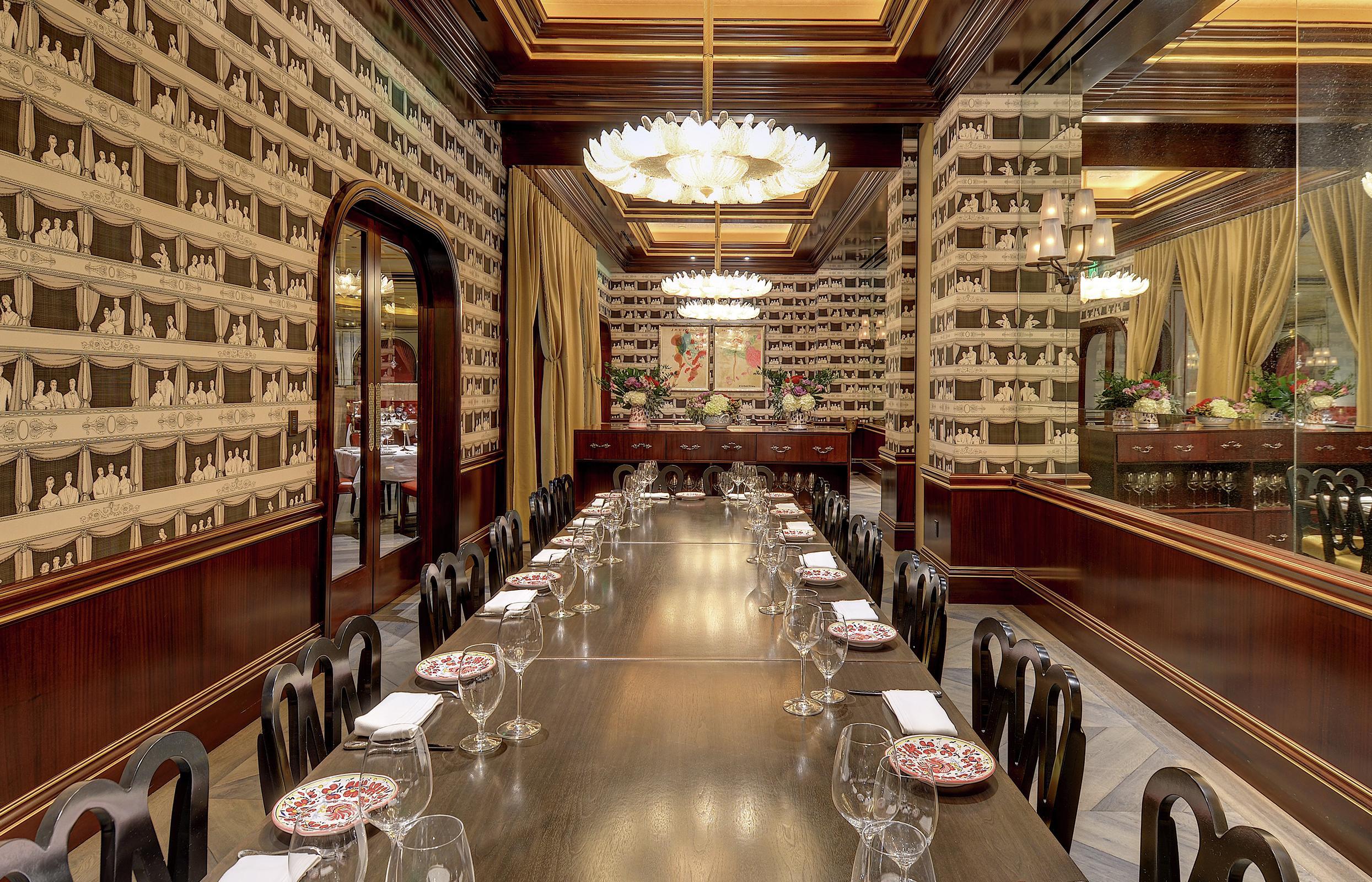 Italian Restaurant Carbone Aria Resort Casino