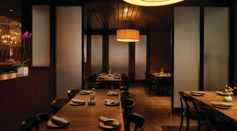 Thai Restaurant Lemongrass Aria Resort Casino