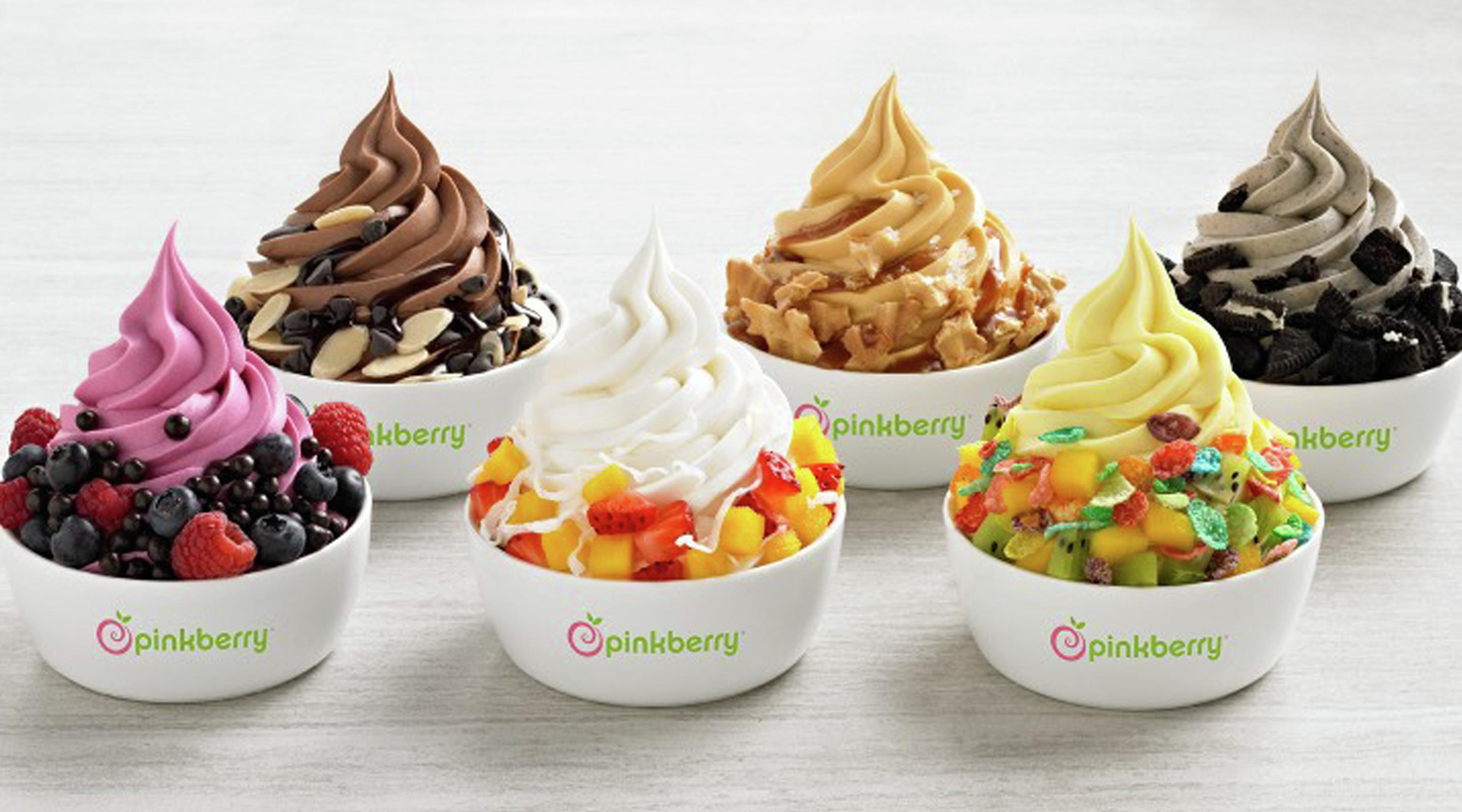 Frozen Yogurt Pinkberry Aria Resort Amp Casino