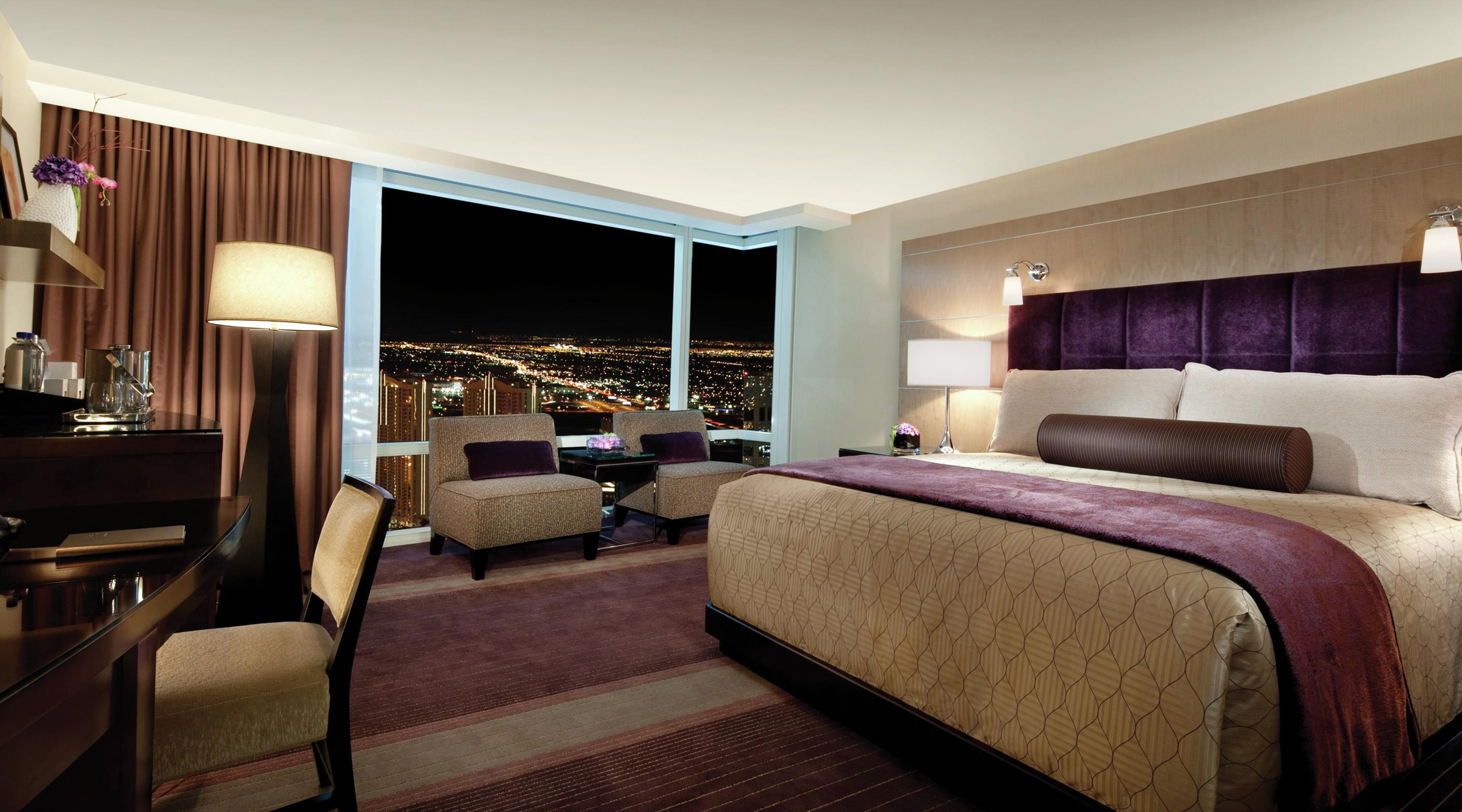 Deluxe Rooms Hotel Rooms in Las Vegas ARIA Resort Casino ARIA Resort  Casino  Deluxe Rooms. Arias Bedroom