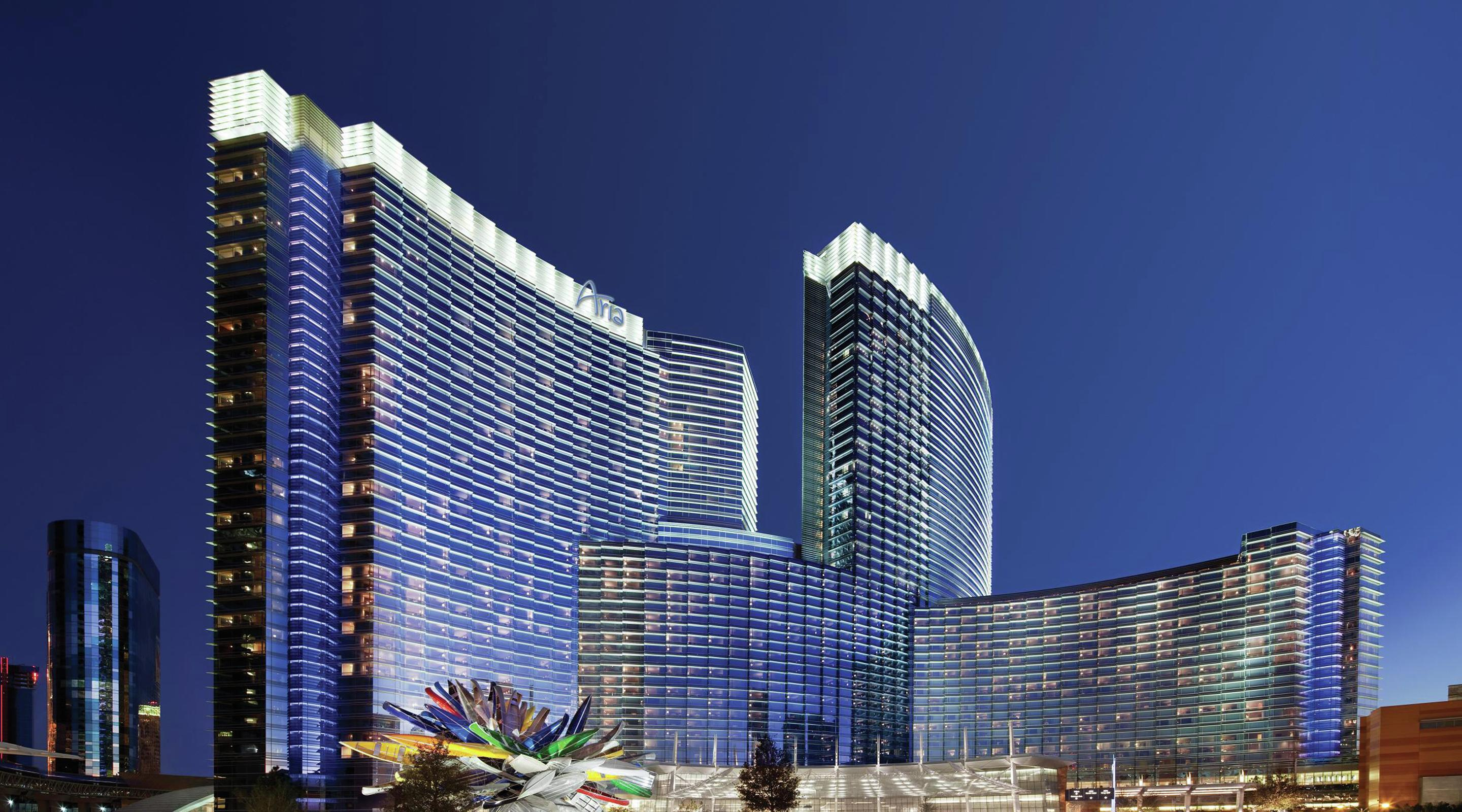 aria resort and casino address