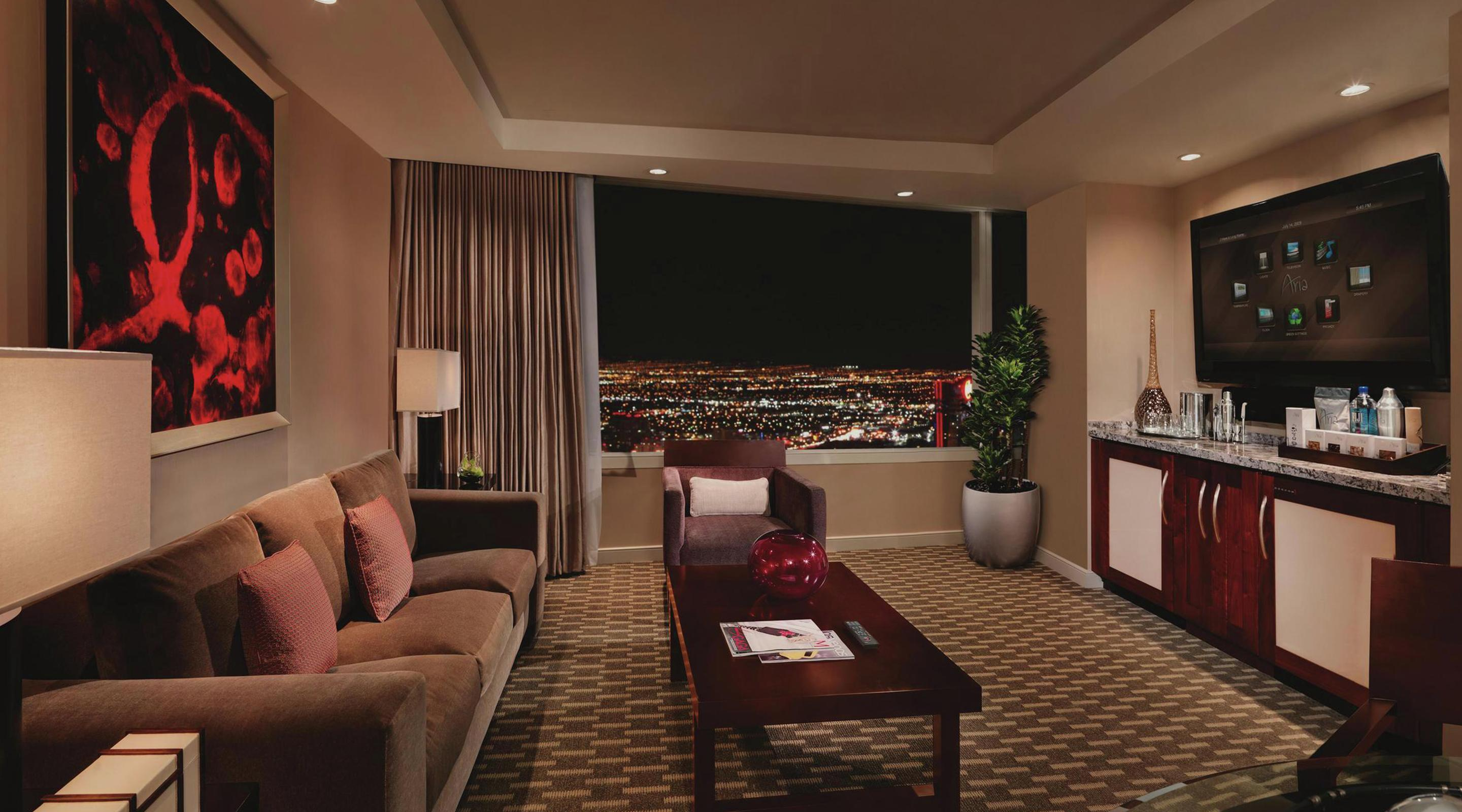 Luxury Suites in Las Vegas Tower Suites ARIA Resort & Casino