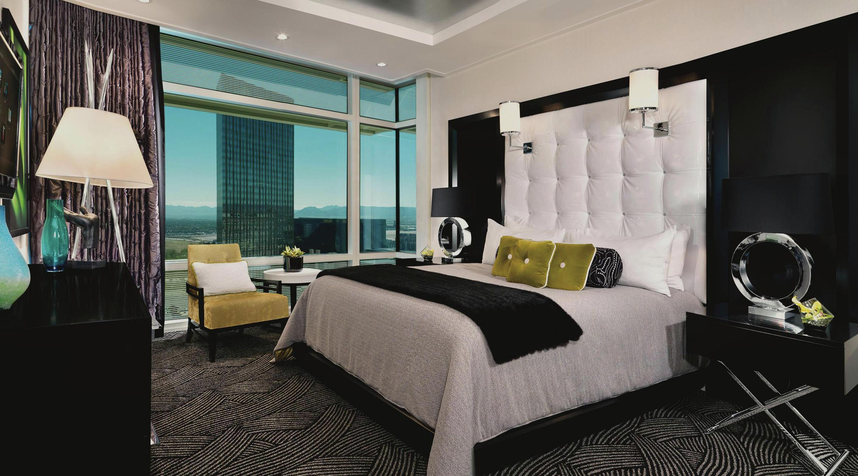 sky one hotel bedroom resort en penthouse suite aria casino mattress suites