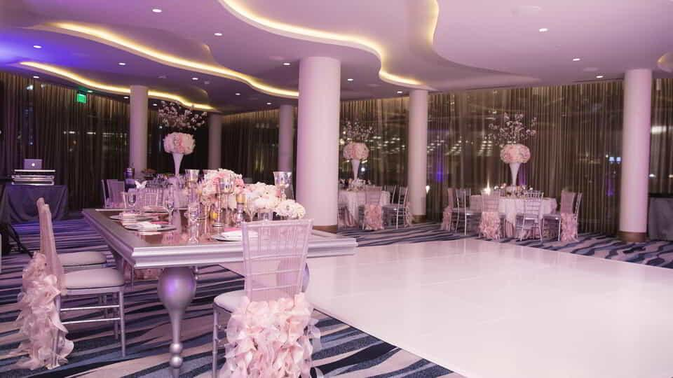 Aria las vegas wedding packages mini bridal for Aria wedding chapel
